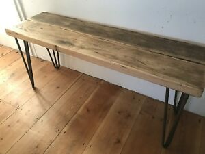 Bench wooden upcycled