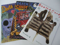 Death & Candy Comic Book Adult Graphic Novel Lot Series Fantagraphics 2000s