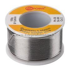 51065 Stagno per saldature elettronice 1 mm. rocchetto 100 grammi saldare filo