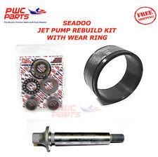 SEADOO Jet Pump Rebuild Kit Wear Ring Impeller Shaft 2002-2005 GTI / LE 720