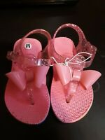 Jelly Jellies Flip Flops Sandals Infant Shoes Baby Pool Beach Size Medium 5-6