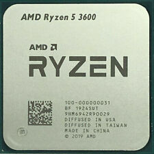 AMD Ryzen 5 3600 R5 3600 3.6 GHz Six-Core Twelve-Thread CPU NO fan
