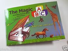Lot 3 books of The Magic ABC /Magic Moving Images Book /Watch The Video