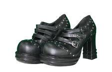 Demonia Gótico Zapatos plataforma Hebillas vampire-08 TALLA 40 (US10) pleaser