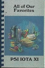 GOSHEN IN 1996 PSI IOTA XI COOK BOOK BETA RHO CHAPTER *INDIANA COMMUNITY RECIPES