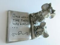 Mice Reading Pewter Figurine - Spoonituques  PP1048 - Once Upon a Time ...