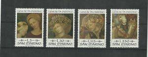 San Marino 1973 Xmas MNH