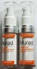 Pack of 2 - Murad Advanced Active Radiance Serum 0.5 Fl Oz/ 15 ml - NEW - No Box