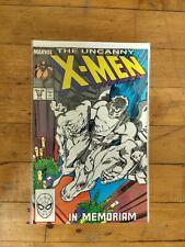 MARVEL The Uncanny X-Men  #228  In Memoriam
