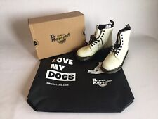 Dr Marten Pascal White  Glitter Size UK  6 New In Box