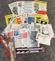 Lot Of Vintage 1960's PA Political Advertising