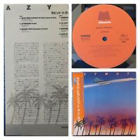 Azymuth: Rapid Transit (VIJ-6413). 1984 Latin Jazz LP. Japan Import. NM LP & OBI