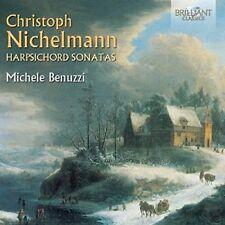 MICHELE BENUZZI - HARPSICHORD SONATAS 2 CD NEUF NICHELMANN,CHRISTOPH