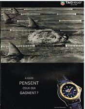 Publicité Advertising 1995 La Montre Tag Heuer Serie S/el Automatique