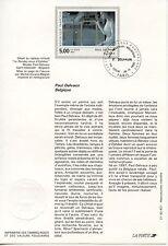 FDC / PREMIER JOUR / ART / TABLEAU / PAUL DELVAUX PARIS 1992