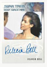 Felecia Bell as Jennifer Sisko STAR TREK DS9 Heroes & Villains Autograph Card