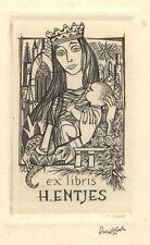 Ex Libris Lou Strik : Opus 32, H. Entjes