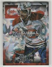 2013 13-14 Absolute Cracked Ice #8 P.K. Subban Limited to 10