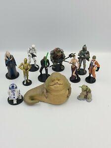 "11 Lot STAR WARS 3.75"" Action Figures Yoda, R2D2, luke ,Princes Leia, Jabba"