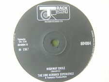 45 GIRI THE JIMI HENDRIX EXPERIENCE HIGHWAY CHILE THE WIND CRIES MARY 1967