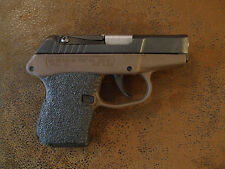 Black Rubber Grip Enhancements (Peel & Stick) for the Kel-Tec P3AT 380 ACP