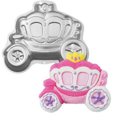 Wilton Baking Princess Carriage Cake Pan Tin Wedding Birthday Celebration NEW