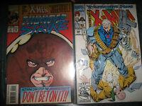 X Men Juggernaut Thunder Strike #2 & X-Men X-Cutioners Song #294 Part 1 comics