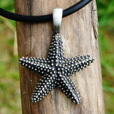 Starfish Symbol of Perceptive Patient Strong Longevity Healing Pewter Pendant