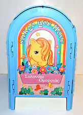 Vintage G1 My Little Pony Greek Pretty Parlor play set by el Greco