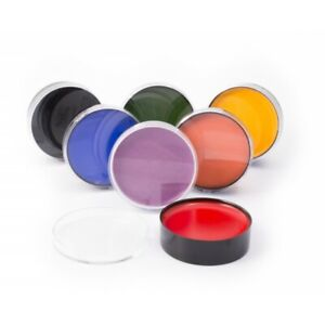 Mehron Color Cups Professional Grease Base Theatrical Makeup .5oz Asso Colors