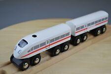 Genuine Brio - 2 Part High Speed Wooden Train with Horn Sound - Set 33418
