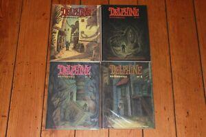 Delphine 1 2 3 4 Richard Sala Ignatz Fantagraphics Horror Mystery Mag Comics NM