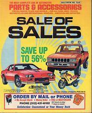 Automotive Parts & Accessories No.72JD 1990 Sale of Sales 022817nonDBE2