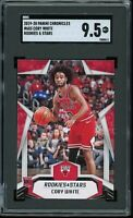2019 Panini Chronicles Rookies & Stars #683 Coby White RC SGC 9.5 MINT+