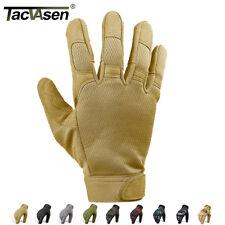 Guantes Tácticos TACVASEN Térmico dedos Completos Guantes Militar Airsoft Antideslizante
