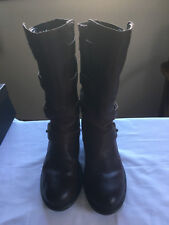 Luxury Rebel Ladies Brown Leather (Calf Height) Boots, size UK 4; US 6; EUR 37