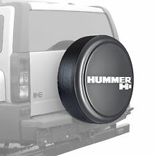 "32"" Hummer H3 Logo - Rigid Tire Cover - Painted - Carbon Flash"
