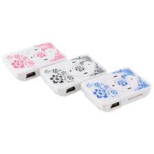 Fashoin Mini USB Clip MP3 Media Player TF/SD card Slot blue and white porcelain`