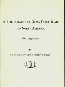 Archaeology Glass Trade Bead Research Annotated Bibliography V2
