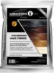 Hair Thickening Fibres   Hair Loss & Balding   100% Natural Keratin   4 Shades