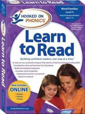 Hooked on Phonics Learn to Read: Kindergarten, Level 2 Ages 4-6 NEW in box