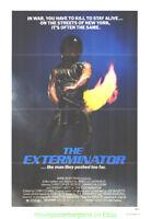 THE EXTERMINATOR MOVIE POSTER Original 27x41 Folded V.f. 1980 CHRISTOPHER GEORGE