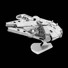 Metal Earth Star Wars Millennium Falcon DIY laser cut 3D steel model kit