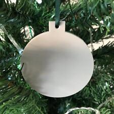 gris clair Boule en forme de décorations ARBRE DE NOËL, & vert ruban, Paquet 10