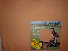 Corrado Mantoni – In Confidenza – Copertina Forata Per Disco Vinile 45 Giri