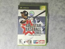 ALL-STAR BASEBALL 2003 FEAT DEREK JETER MICROSOFT XBOX ORIGINALE e 360 NTSC USA