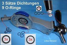3 Sätze Dichtungen O-Ringe 9 Stück für Philips Perfect Draft® Bierzapfanlage