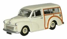 Oxford 76MMT001 Morris Minor Travaller English White 1/76 Scale 00 Gauge T48Post