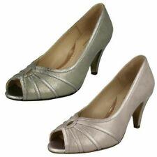 Ladies Elegant Van Dal Peep Toe Shoes 'Hart'