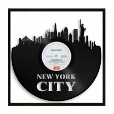 New York City Vinyl Wall Art Cityscape Souvenir Home Bedroom Office Decor Framed